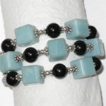 Amazonite Cuff Bracelet