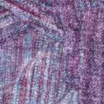 purple rayon chenille handwoven scarf