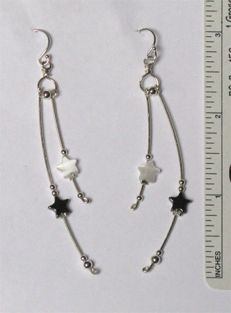 Perseids earrings