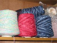 coned weaving yarns
