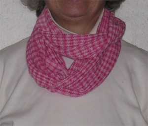 handwoven infinity scarf