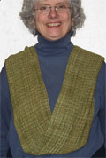 infinity scarf drape