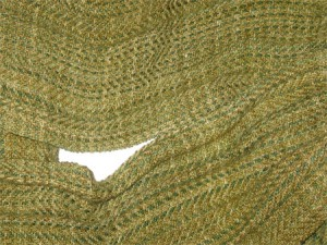 Handwoven Infinity Scarf - Olive Oil