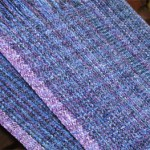 rayon chenille surreal warp and weft
