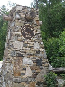 DuPont Forest sign