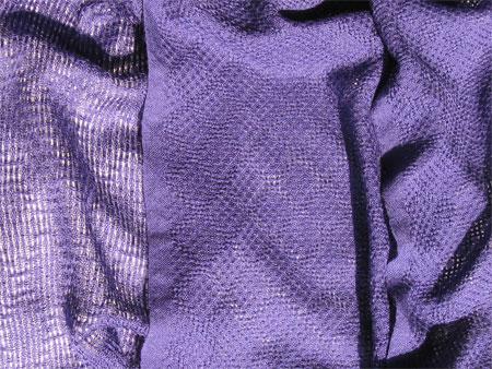 purple handwoven cashmere scarves