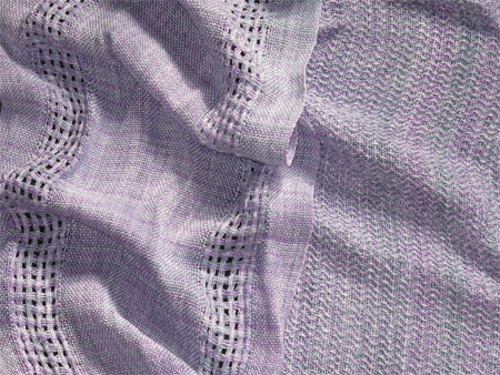 handwoven rayon scarves silver linings