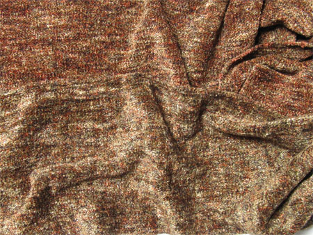 handwoven rayon chenille scarves-dusky woods
