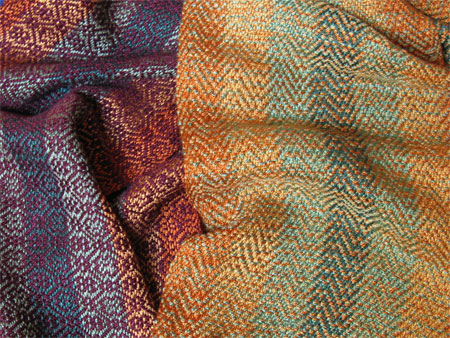 handwoven-rayon-scarves-fall-colors