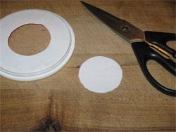 template circle cut