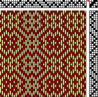 M&W weaving draft
