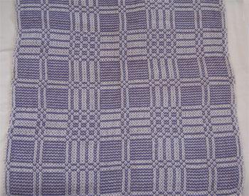 lavender handwoven napkin