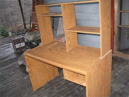 old computer desk