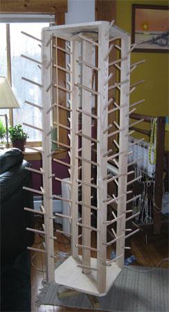 cone rack empty