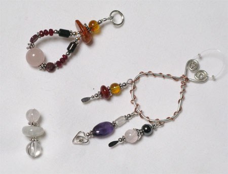 healing gemstone talismans