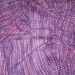 handwoven cotton flannel shawls