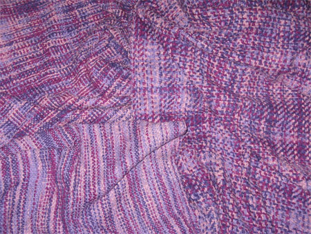 handwoven cotton flannel shawls