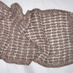 handwoven cotton & linen scarf