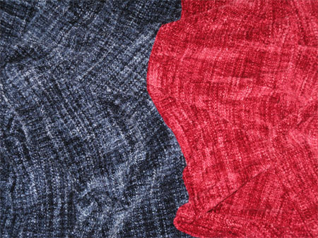 handwoven rayon chenille scarves
