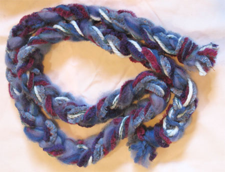 fit for a queen braided scarf