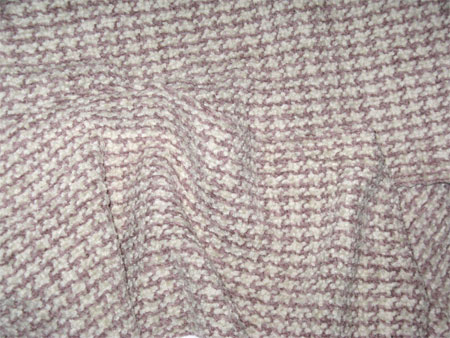 custom handwoven scarf, heather & ice organic cotton chenille