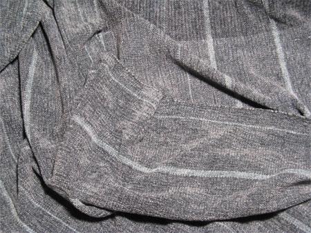 handwoven shawl, rayon chenille, steel & starlight