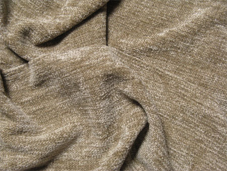handwoven scarves, bamboo chenille Sand