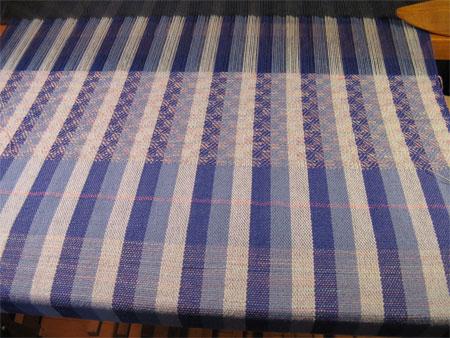 handwoven towels, plain weave