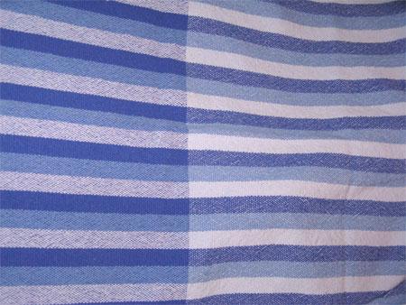 handwoven towel, plain weave 2