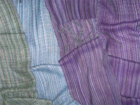 handwoven scarves, Magic Kingdom tencel