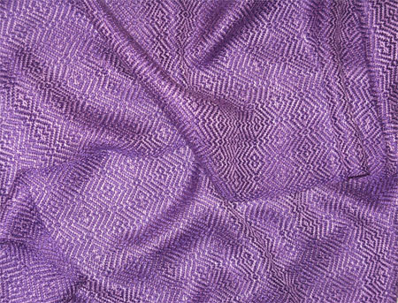 handwoven rayon scarves, 2 purples