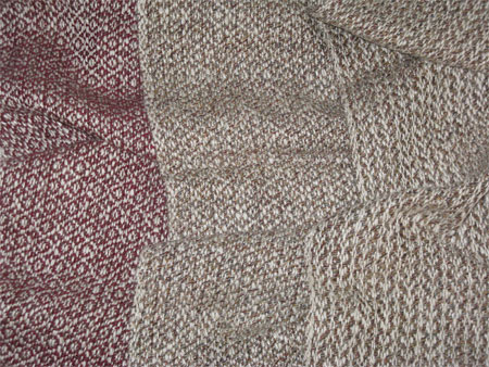 handwoven scarves, diamonds
