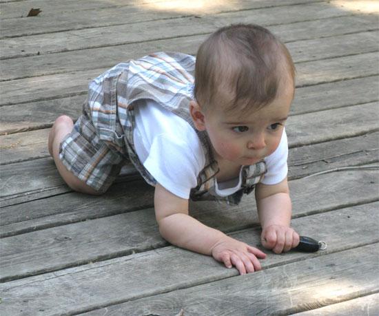 crawling with my key