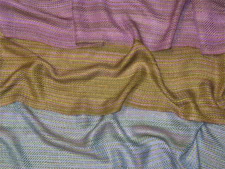 November handwoven scarves in bamboo-cotton