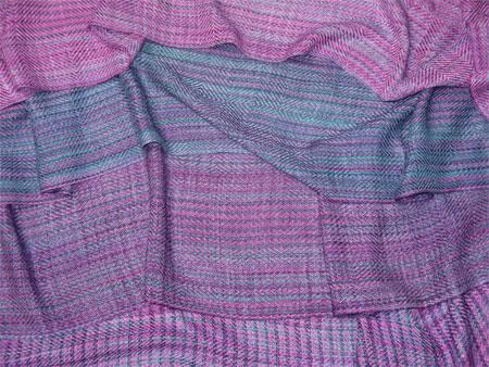 handwoven scarves, bamboo cotton, Rhonda