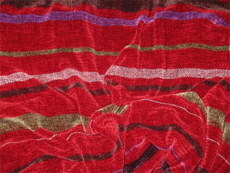 custom shawl is done