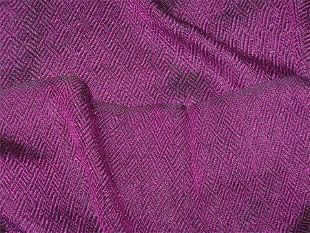 purple braided twill handwoven scarf