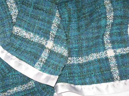 Jenny's handwoven baby blanket