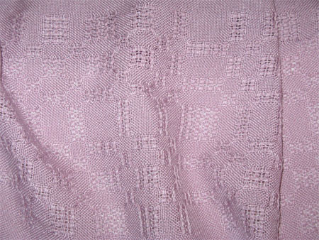 handwoven scarves, silk & cotton, lilac
