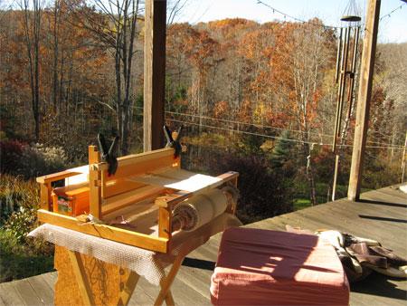 porch weaving