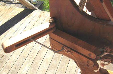 side lever open