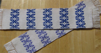 handwoven butterflies bookmarks