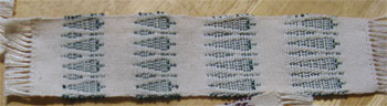 handwoven trees2 bookmarks