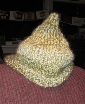 pointy hat