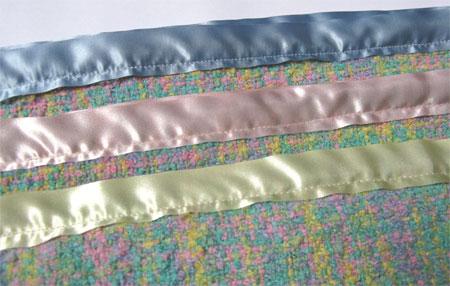 blankets, 3 bindings