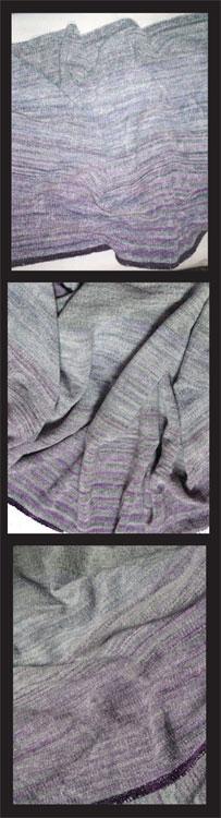 3 handwoven shawls