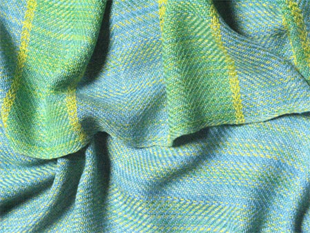 Blue Spruce handwoven scarves 2