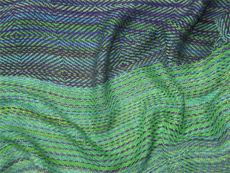 Gems handwoven bamboo cotton scarves