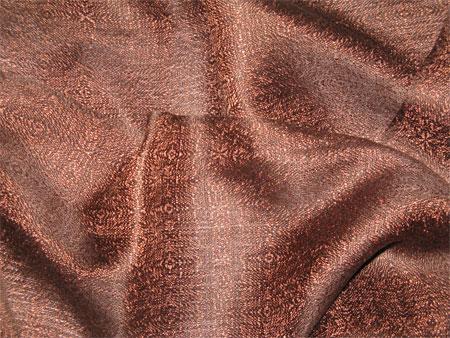 handwoven silk scarf, Bitter