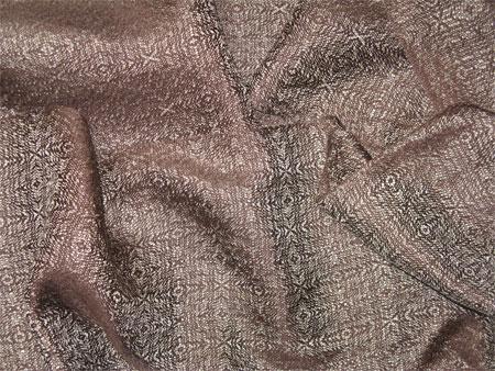 handwoven silk scarf, chablis